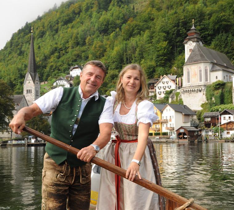 Luzia Gamsjäger austria guide Hallstatt